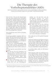 Die Therapie des Vorhofseptumdefekts (ASD) - Deutsche ...