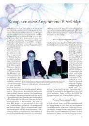 Kompetenznetz Angeborene Herzfehler - Deutsche Herzstiftung eV