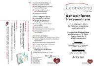 Leopoldina-Krankenhaus - Deutsche Herzstiftung eV