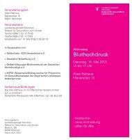Aktionstag Bluthochdruck (278,3 KB, PDF) - München