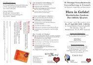 Herz in Gefahr! Metabolisches Syndrom - Deutsche Herzstiftung eV