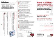 Herz in Gefahr - Deutsche Herzstiftung eV