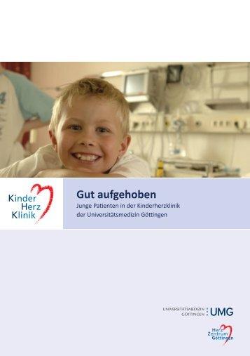Kinderherzklinik Broschüre - Universitätsmedizin Göttingen