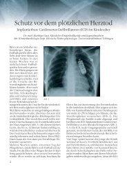 Schutz vor dem plötzlichen Herztod - Deutsche Herzstiftung eV