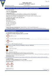 MSDS Hesi pH+ Plus