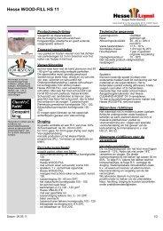 Hesse WOOD-FILL HS 11 - Hesse Lignal