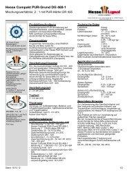Hesse Compakt PUR-Grund DG 468-1 - Hesse Lignal