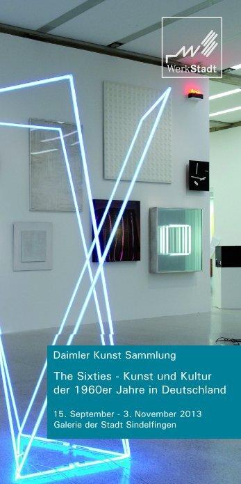 The Sixties - Daimler Kunst Sammlung