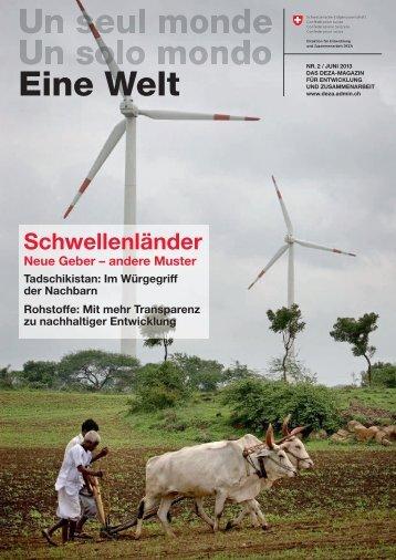 Wenn Reichtum Armut schafft - Deza - admin.ch