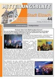 KW44 - Stadt Elzach