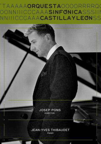 josep pons jean-Yves thibaudet - Auditorio Miguel Delibes