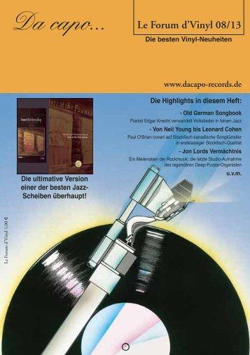 Download Le Forum d´Vinyl - Da capo