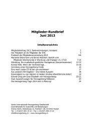 31. Mai 2013 - Heinrich von Herzogenberg