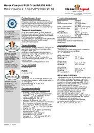 Hesse Compact PUR Grondlak DG 468-1 - Hesse Lignal