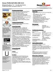 Hesse PURA-NATURA HDE 52-0 - Hesse Lignal