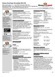 Hesse SunCape Grondlak DG 416 - Hesse Lignal