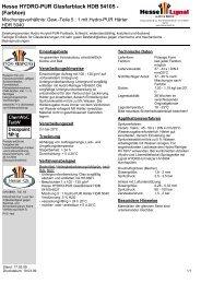 Hesse HYDRO-PUR Glasfarblack HDB 54105 ... - Hesse Lignal