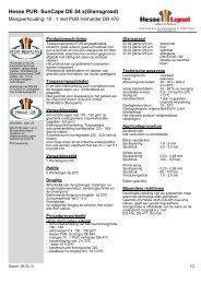 Hesse PUR- SunCape DE 54 x(Glansgraad) - Hesse Lignal