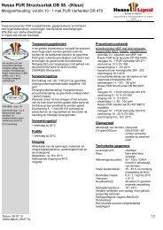 Hesse PUR Structuurlak DB 58. -(Kleur) - Hesse Lignal