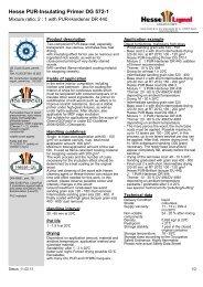 Hesse PUR-Insulating Primer DG 572-1 - Hesse Lignal