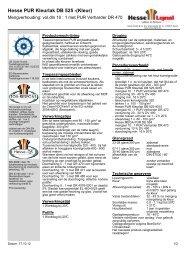 Hesse PUR Kleurlak DB 525 -(Kleur) - Hesse Lignal