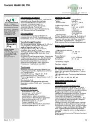 Proterra Hartöl GE 110 - Hesse Lignal