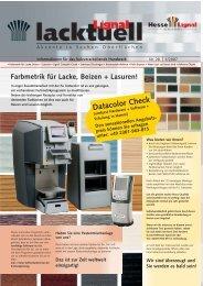 Datacolor Check - Hesse Lignal