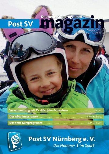 Post SV-Magazin 01-2014