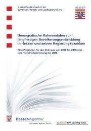 Demografische Rahmen - HA Hessen Agentur GmbH