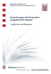 Ergebnisse einer Befragung - HA Hessen Agentur GmbH