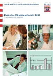 Hessischer Mittelstandsbericht 2004 - HA Hessen Agentur GmbH