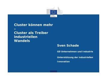 Cluster als Treiber industriellen Wandels - Hessen-Cluster