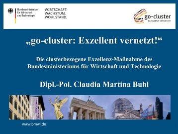 """""""go cluster"""" und das nationale Clusterportal ... - Hessen-Cluster"""