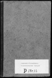Personalverzeichnis Wintersemester 1906/07