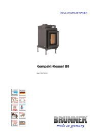 Kompakt-Kessel B8 made in germany - Brunner