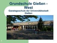 Projekt: Grünes Klassenzimmer - Ganztägig Lernen - Hessen