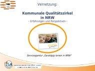 Kommunale Qualitätszirkel in NRW - Ganztägig Lernen - Hessen