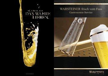 WARSTEINER frisch vom Fass - Warsteiner Gruppe