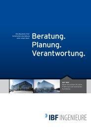 Firmenbroschüre - IBF Ingenieure