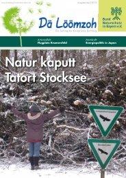 Zum Download (PDF ca. 2 MB) - Bund Naturschutz in Bayern eV