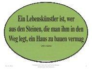 01.11. 2012 Präsentation: Elke John und Günter Kaspar ...