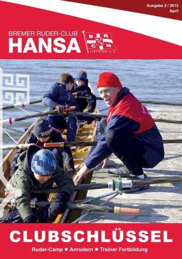 Ausgabe 2/13 - Bremer Ruder-Club HANSA