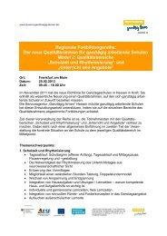 Informationen und Anmeldung - Ganztägig Lernen - Hessen