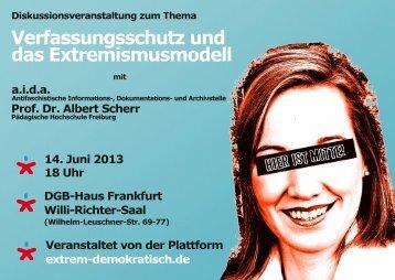 Verfassungsschutz und das Extremismusmodell - Hessischer ...