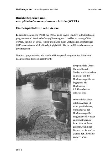 2 - Hessischer Landesverein zur Erhaltung und Nutzung von Mühlen