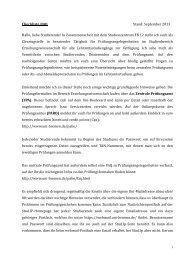 Checkliste/FAQ Stand: September 2013 Hallo ... - Fachbereich 12
