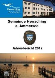 Jahresbericht 2012 - Herrsching am Ammersee