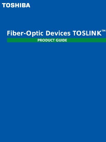 Fiber-Optic Devices TOSLINK - HEStore.hu