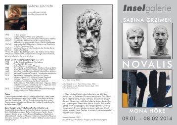 der Flyer zur 210. Ausstellung als PDF - INSELGALERIE Berlin
