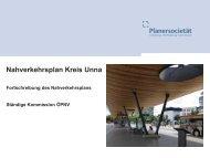 NVP Fortschreibung | Vortrag - Kreis Unna